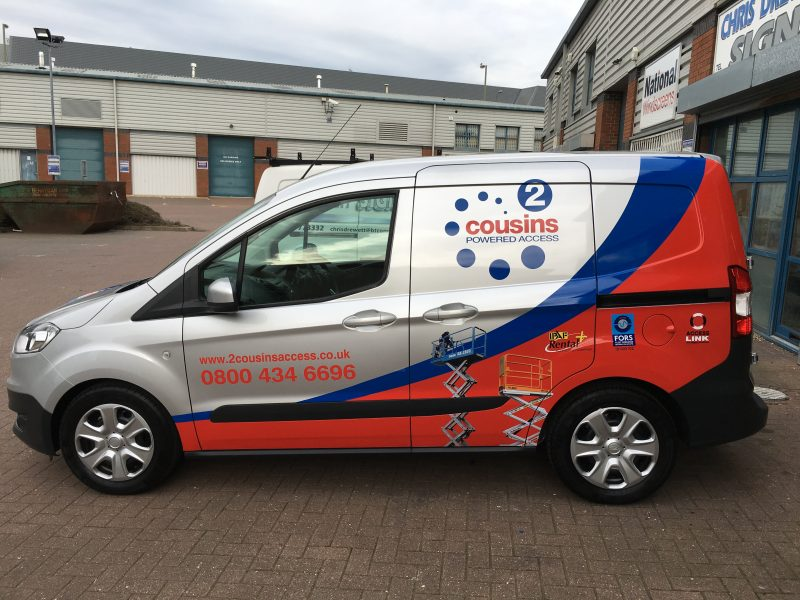 vehicle wrapping sign makers Oxford