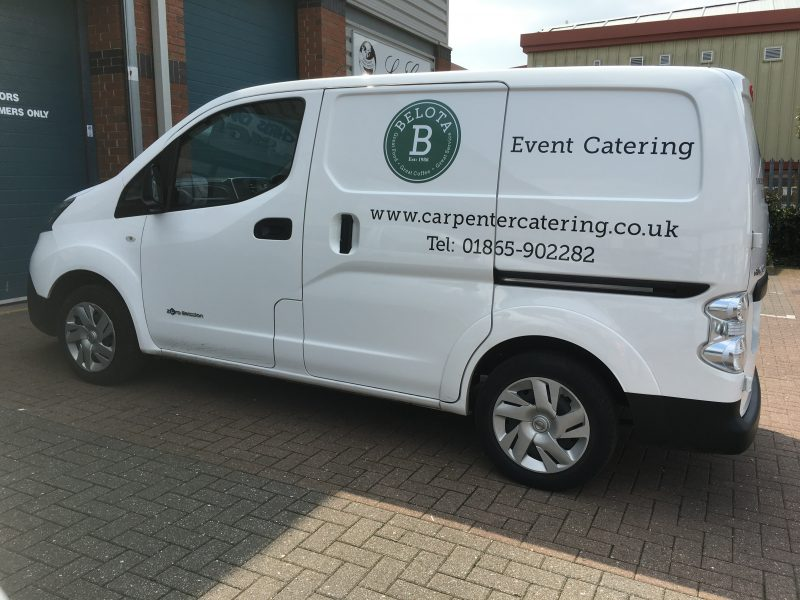 van graphics Oxford Abingdon Bicester Banbury Buckingham