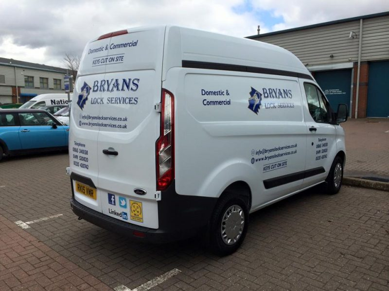 van graphics Oxfordshire external vinyl