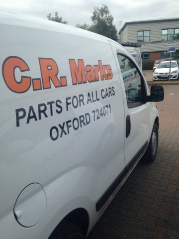 vinyl signs van graphics Oxford Abingdon Bicester Kidlington