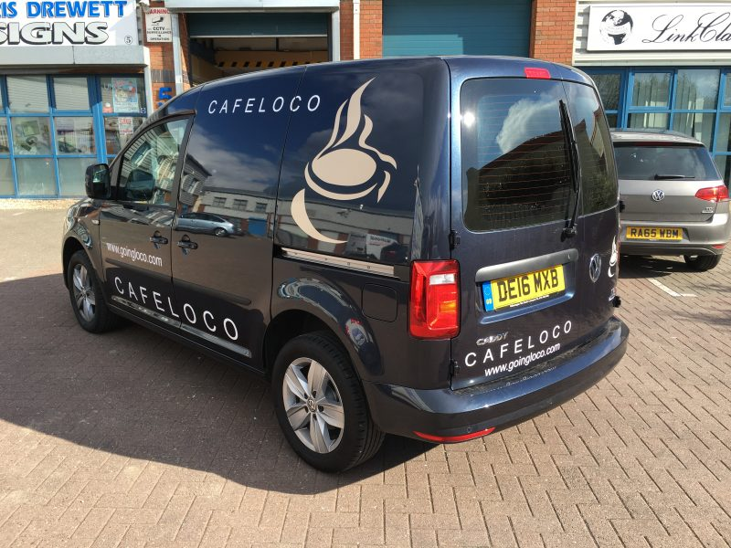 vehicle graphics van signs signage for vehicles Oxfordshire