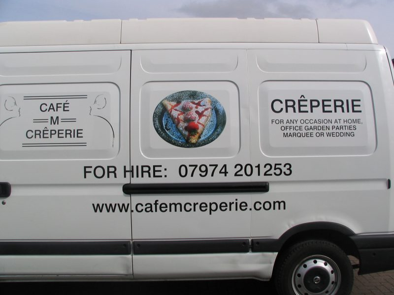 pictorial vehicle graphics printed images Oxford
