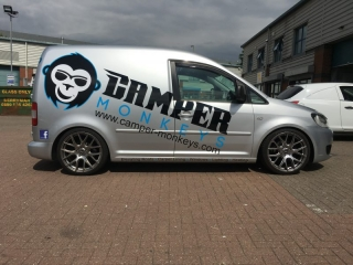 74b84a662d rear wrap vehicle graphics Oxford. vehicle signage van signs oxfordshire