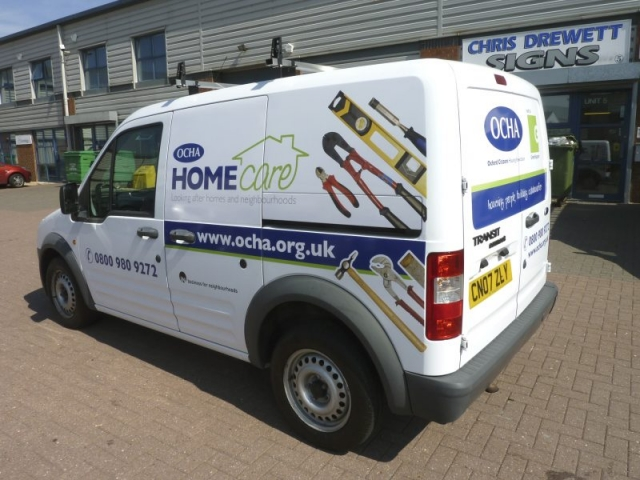 printed vehicle graphics Oxford