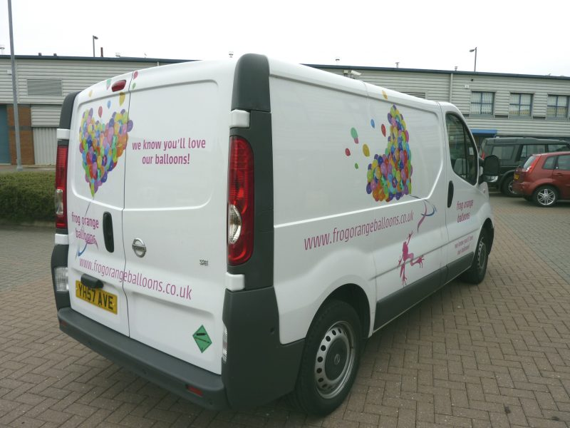 printed graphics van signage Oxford