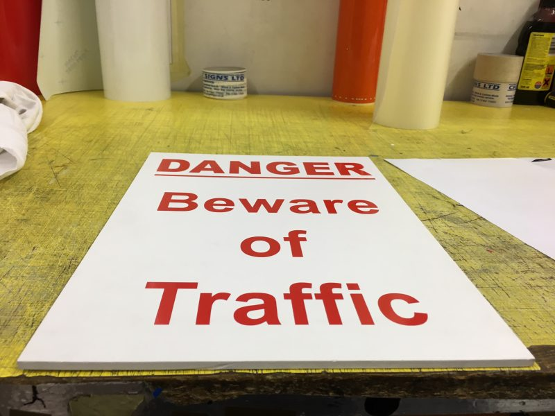 traffic signs Oxford Headington Cowley Abingdon