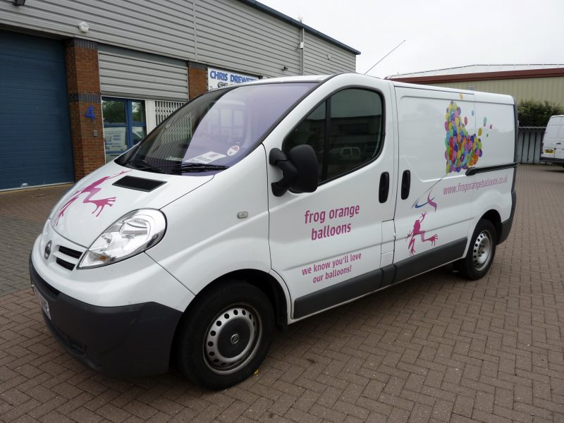 printed designs vehicle signs Oxfordshire