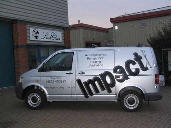 Part wrap Oxford Vehicle signage