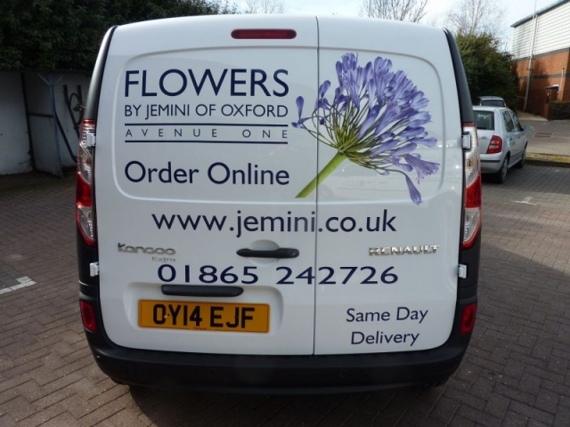 printed vehicle graphics van signs Oxford Cowley Abingdon