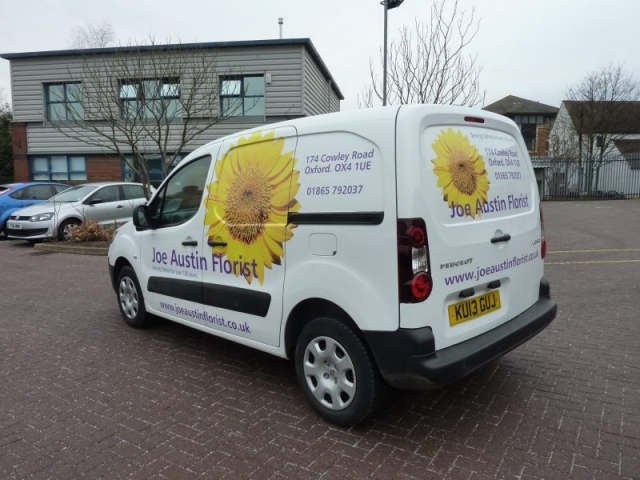 part wrap vehicle signs Cowley Oxford Abingdon Banbury Bicester
