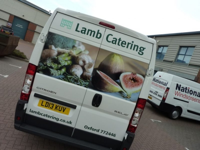 printed vehicle graphics van signs Oxford Bicester Banbury