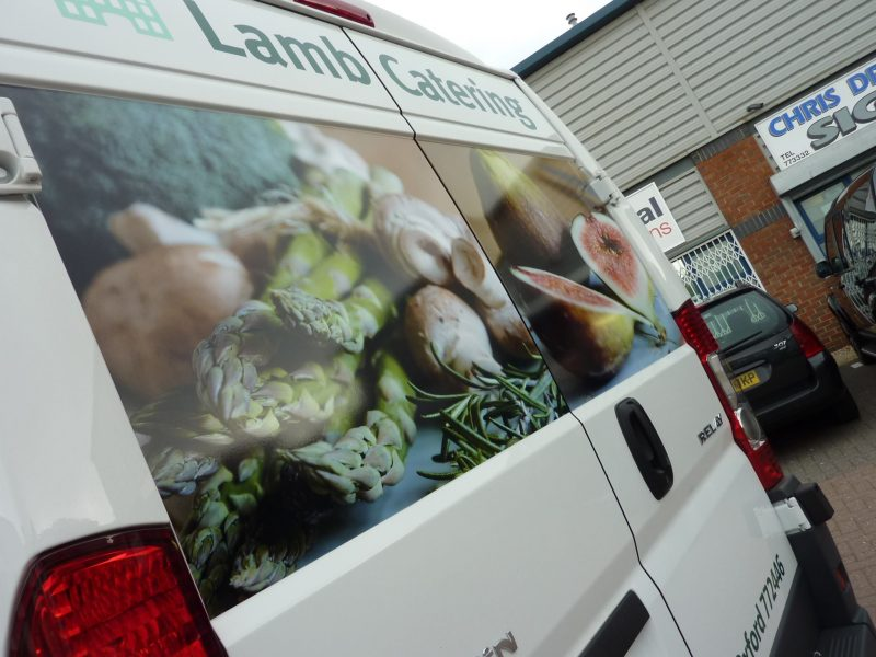 printed images for vehicles Oxford Abingdon Witney