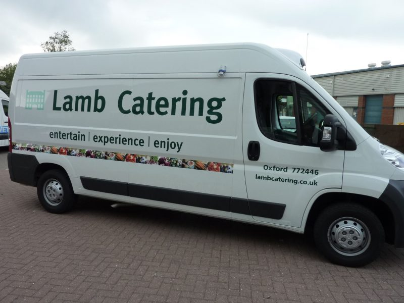 printed logo applied to vehicle Oxfordshire