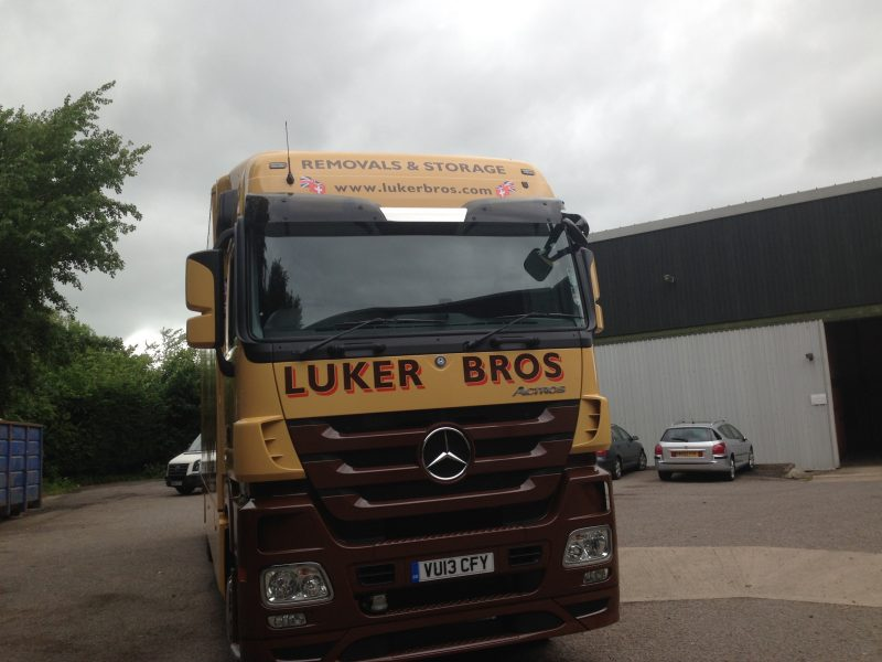 lorry signage hgv signs vinyl graphics