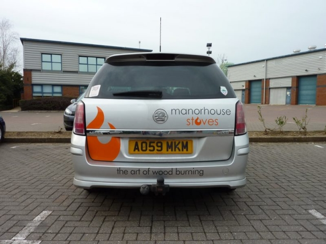 vinyl decals for vans Oxford Abingdon Bicester Witney