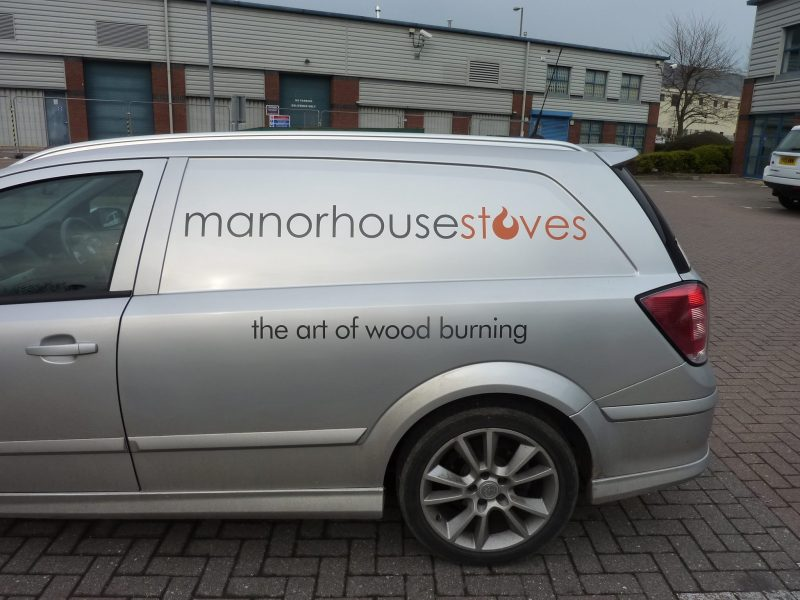 graphics for vans Oxford Abingdon Kidlington Banbury Bicester