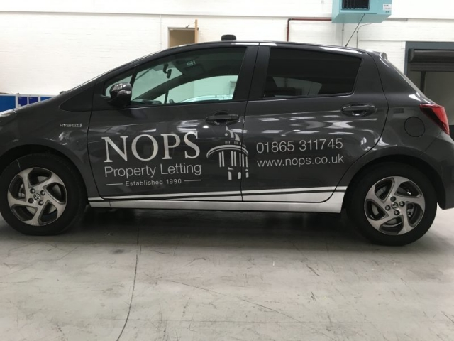 vehicle graphics brushed stainless steel effect vinyl