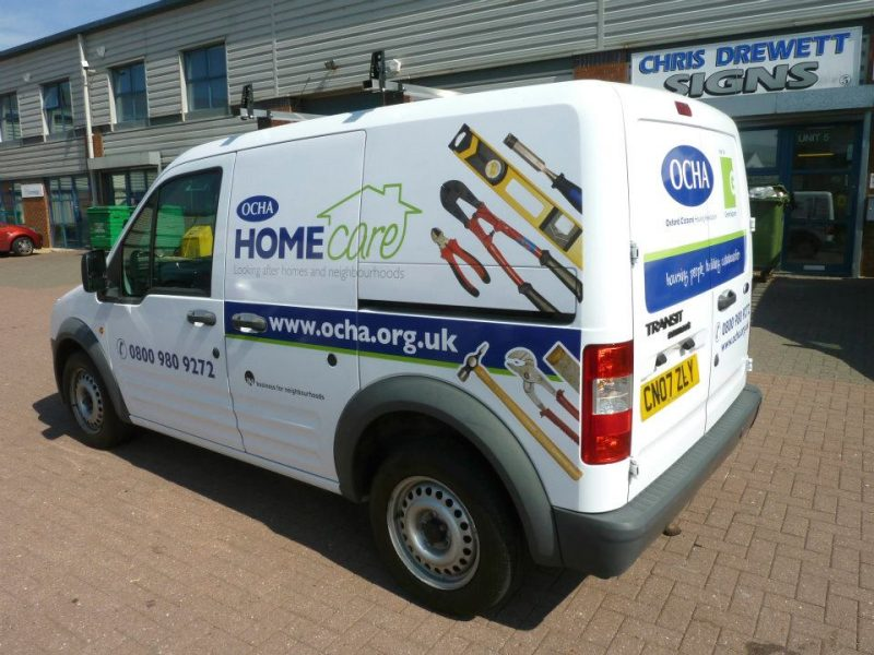 custom graphics vehicle signs Oxford Abingdon Headington Cowley