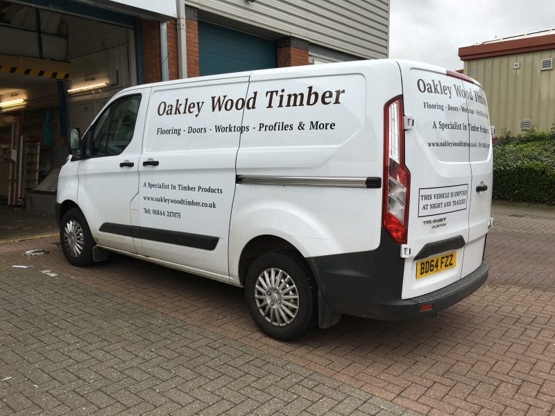 van signs transit custom Oxford Abingdon Woodstock