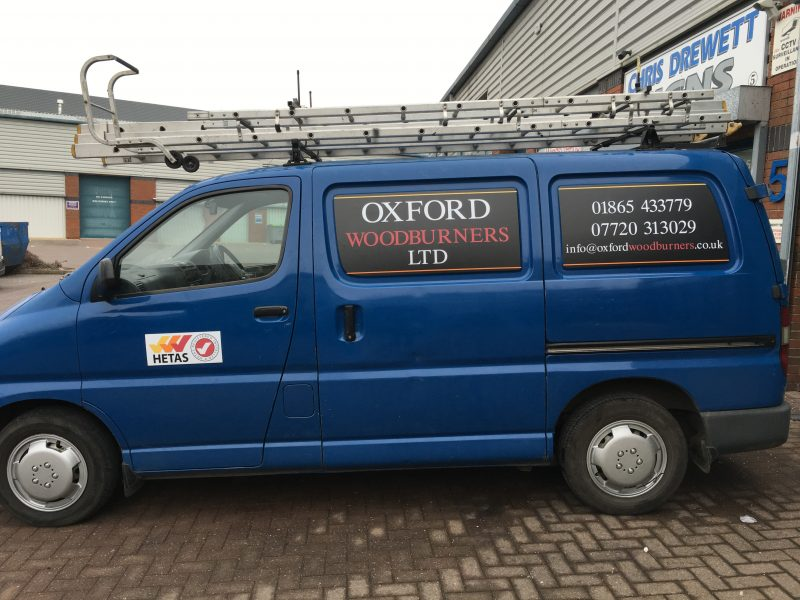 vehicle graphics Oxford Abingdon Kidlington Headington