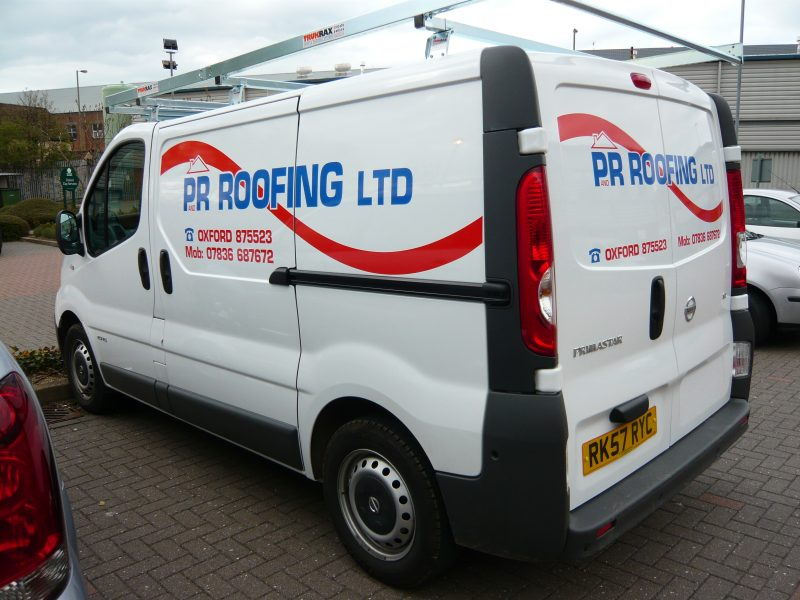van graphics vinyl signs Oxford