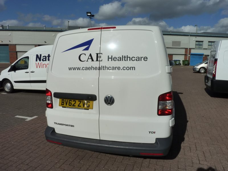 van signage vehicle graphics vinyl lettering Oxford