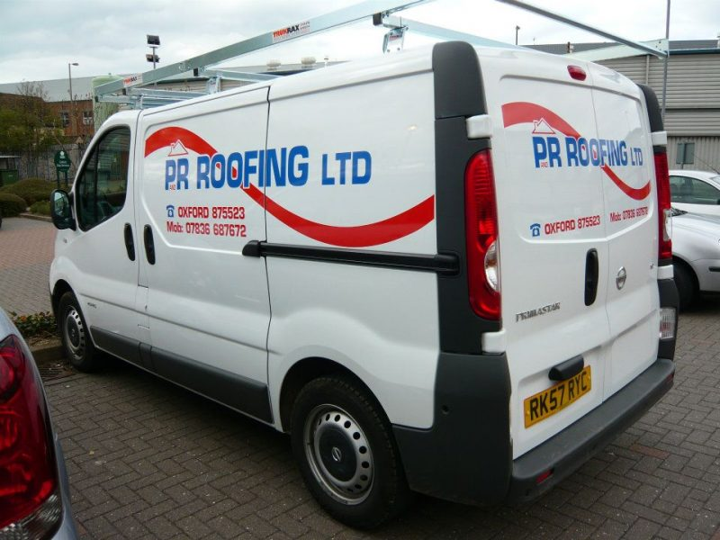 vehicle graphics Cowley Oxford van signs