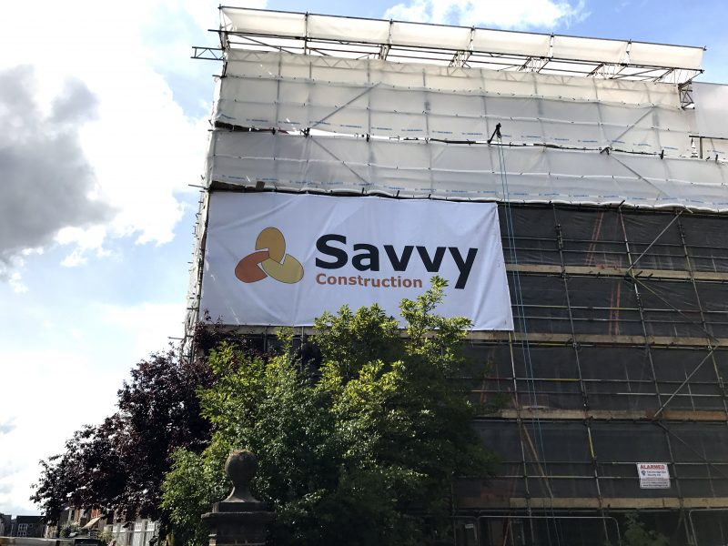 PVC mesh banners Oxford London