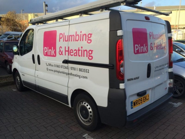 vehicle signage Oxford van graphics Oxford Abingdon