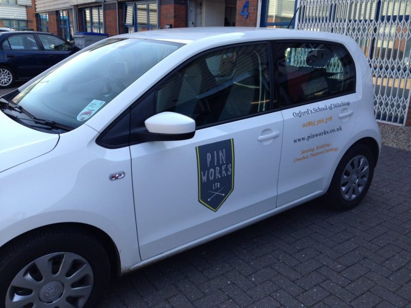 business advertising car signage Oxford Kidlington Abingdon Bicester