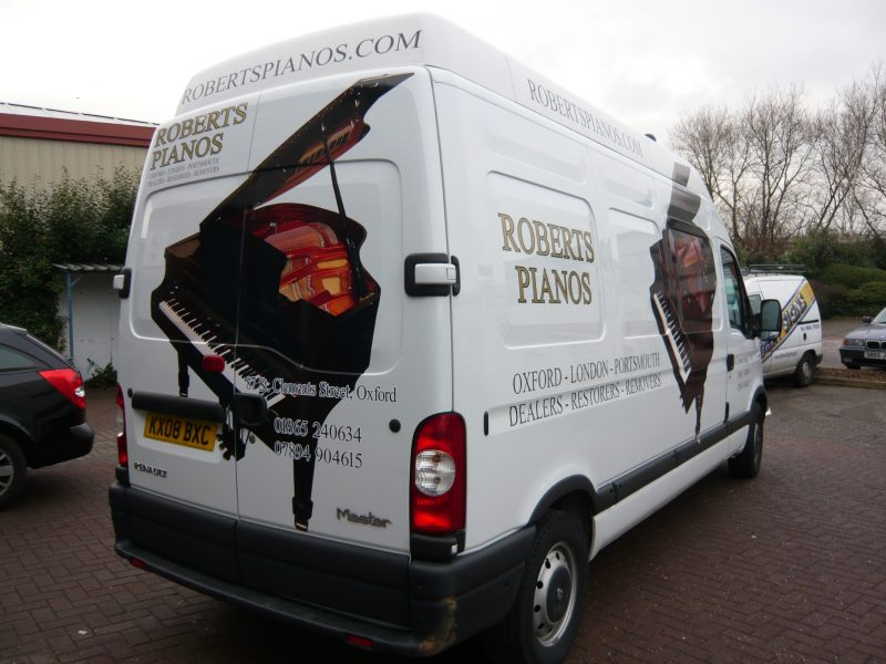van wrapping Oxford