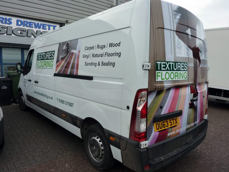 vehicle signage Cowley Oxford van signs wrapping