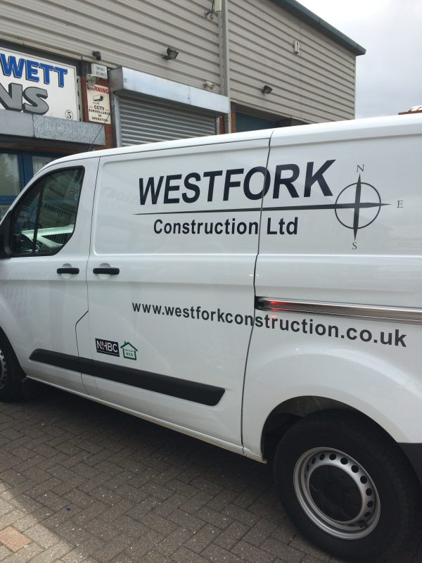 vinyl vehicle graphics Oxford van signs