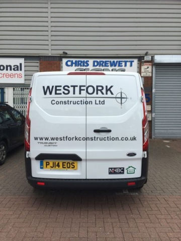 vehicle graphics vinyl signage Oxford Abingdon Kidlington London