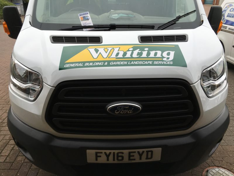 vinyl lettering for vans Oxford