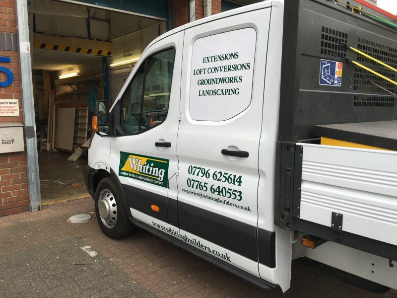 vehicle graphics van signage Oxford Abingdon Kidlington