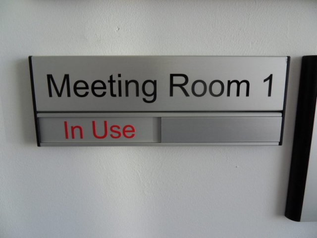 meeting room sign engaged signs Oxford