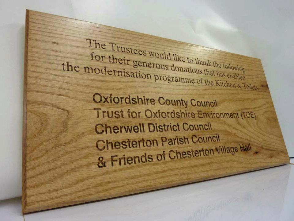 wooden sign engraving laser etching