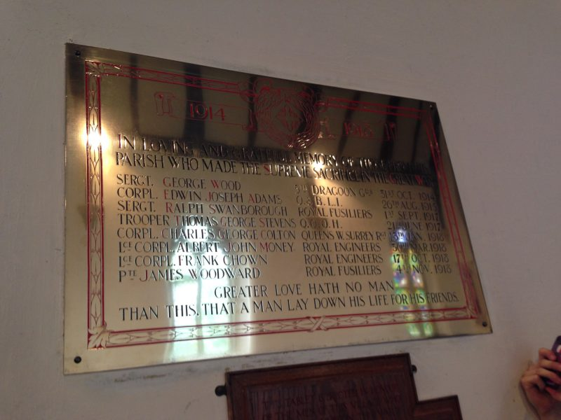 brass plaque restoration Oxford London Abingdon Witney