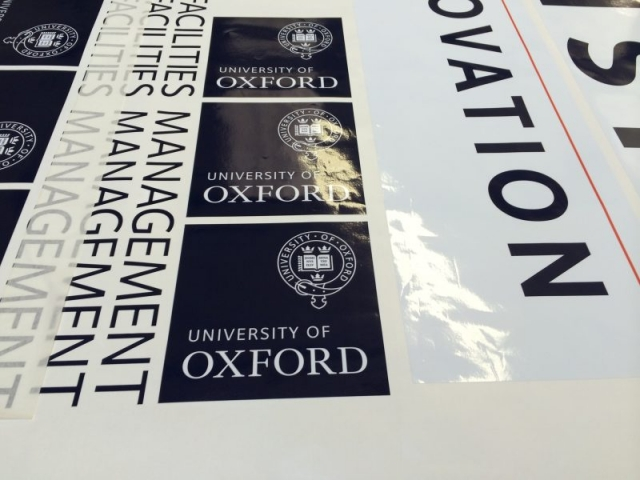 printed signs digital printing Oxford London