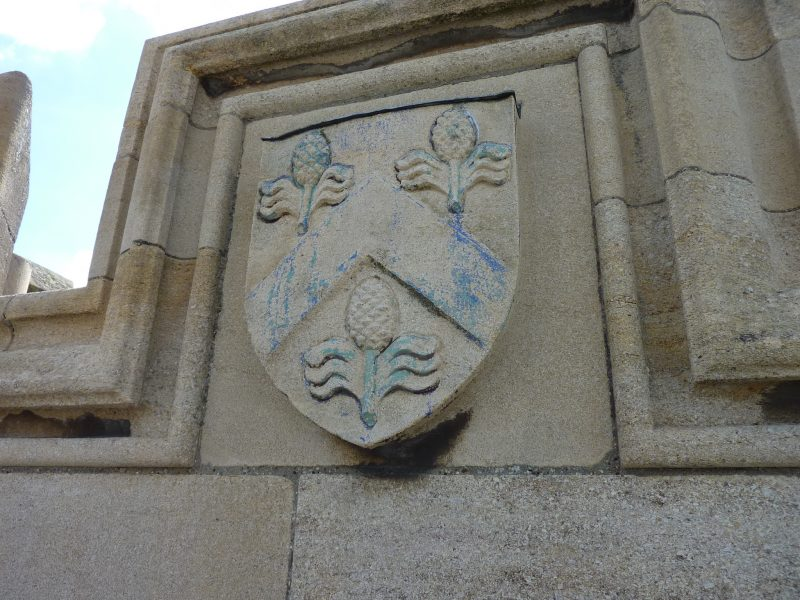 repairs to crests painted college crests