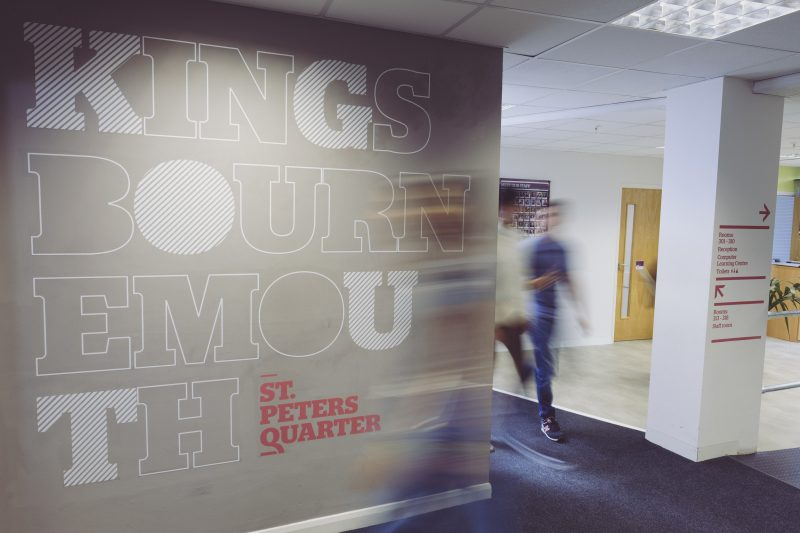 wall lettering self adhesive vinyl graphics Oxfordshire London Bournemouth